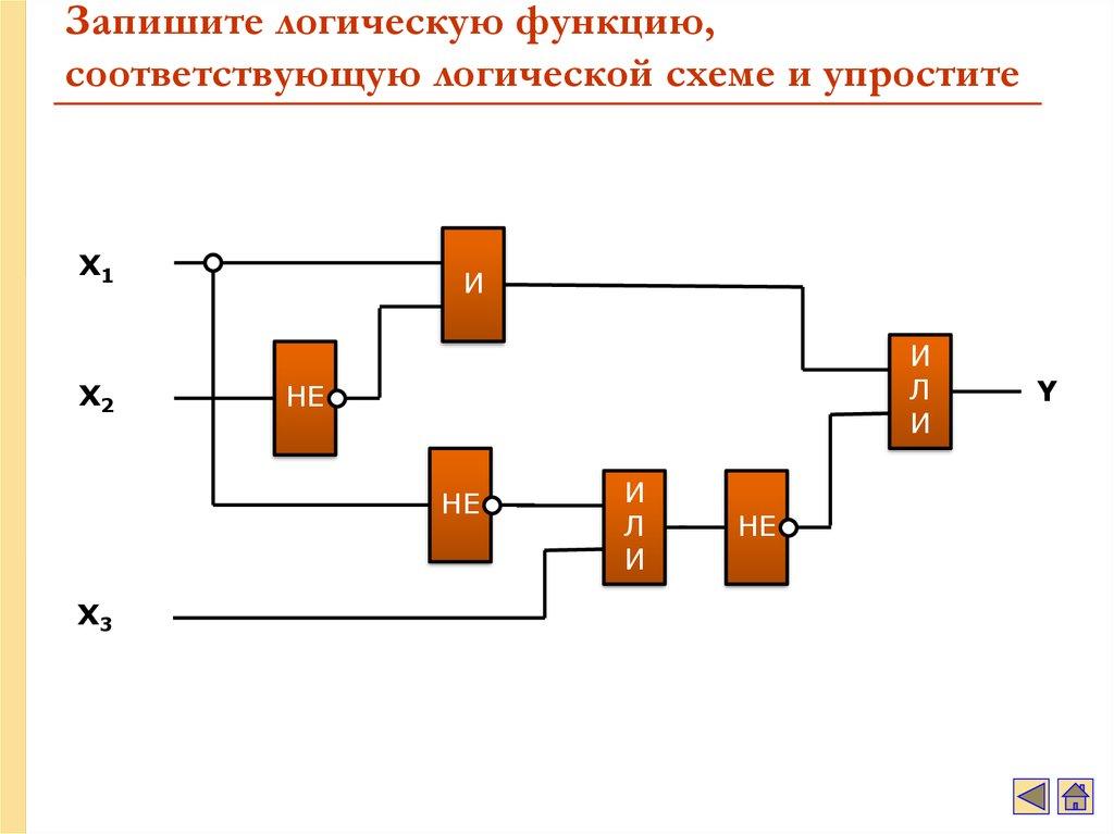 Базовые логические схемы