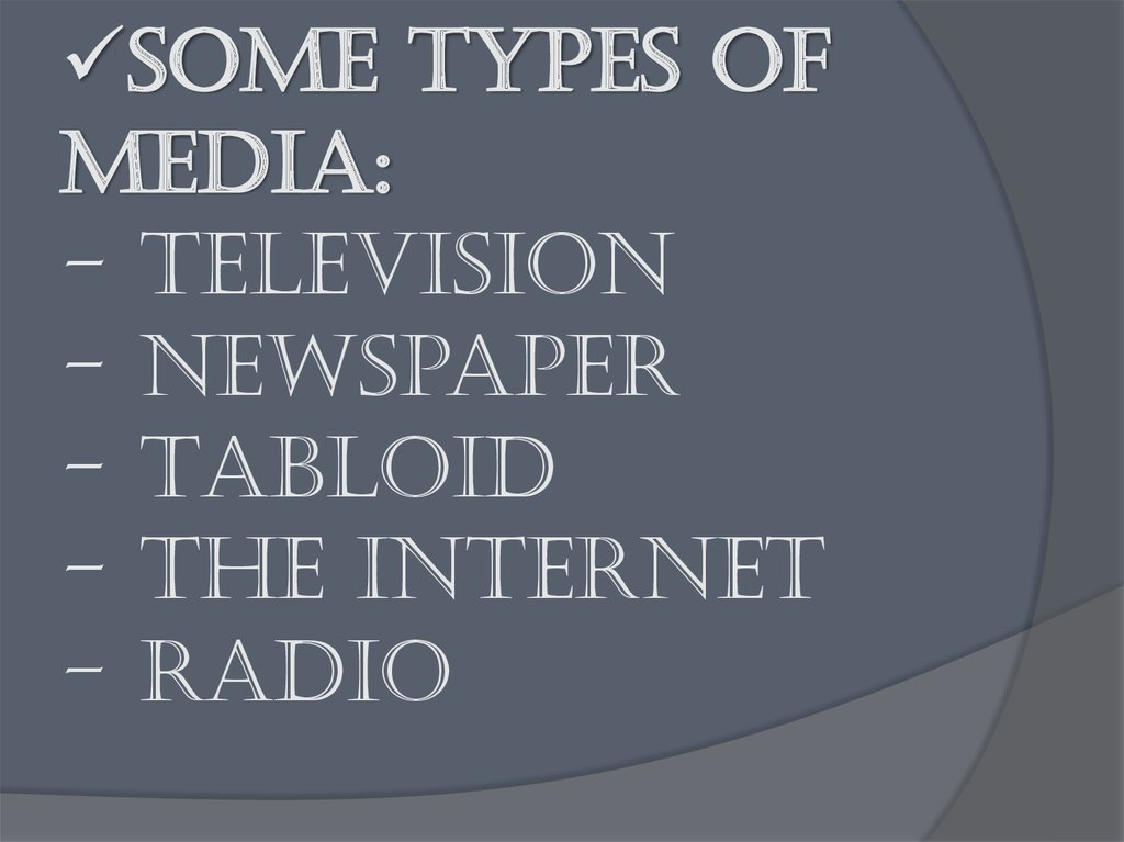 Influences Of Mass Media Essay