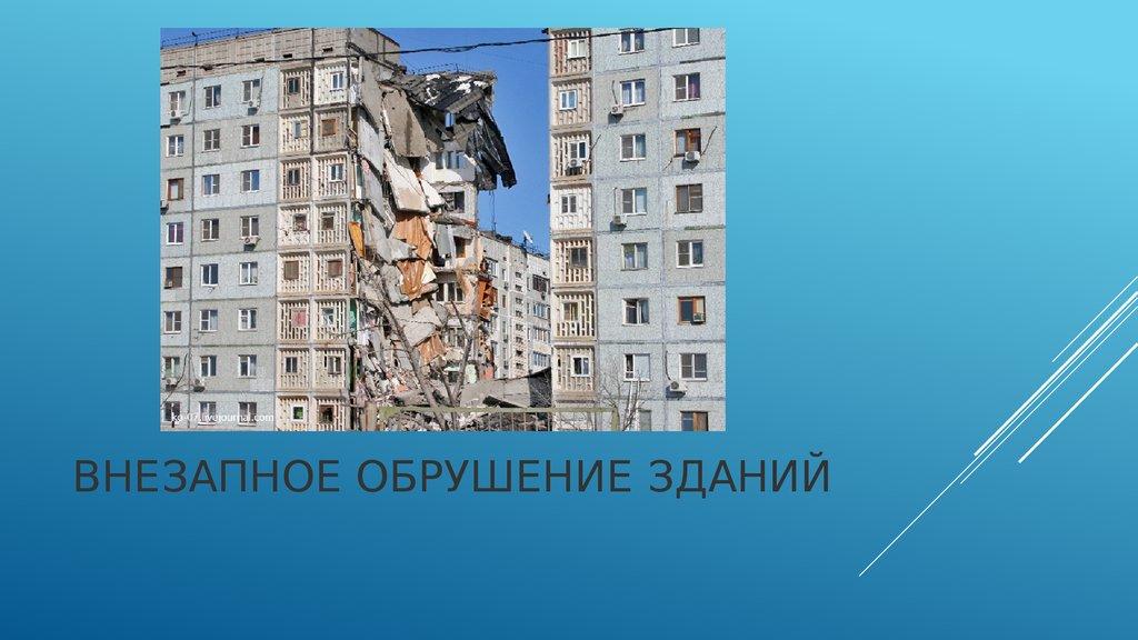 К чему снится разрушение домов и зданий