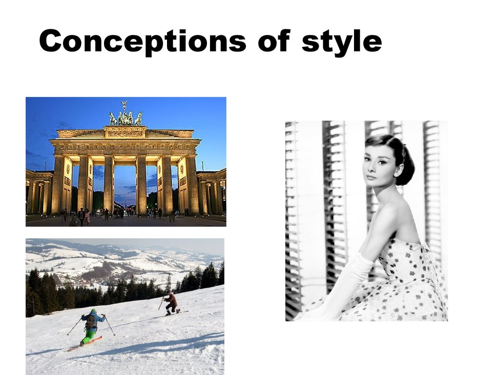Conceptions of style