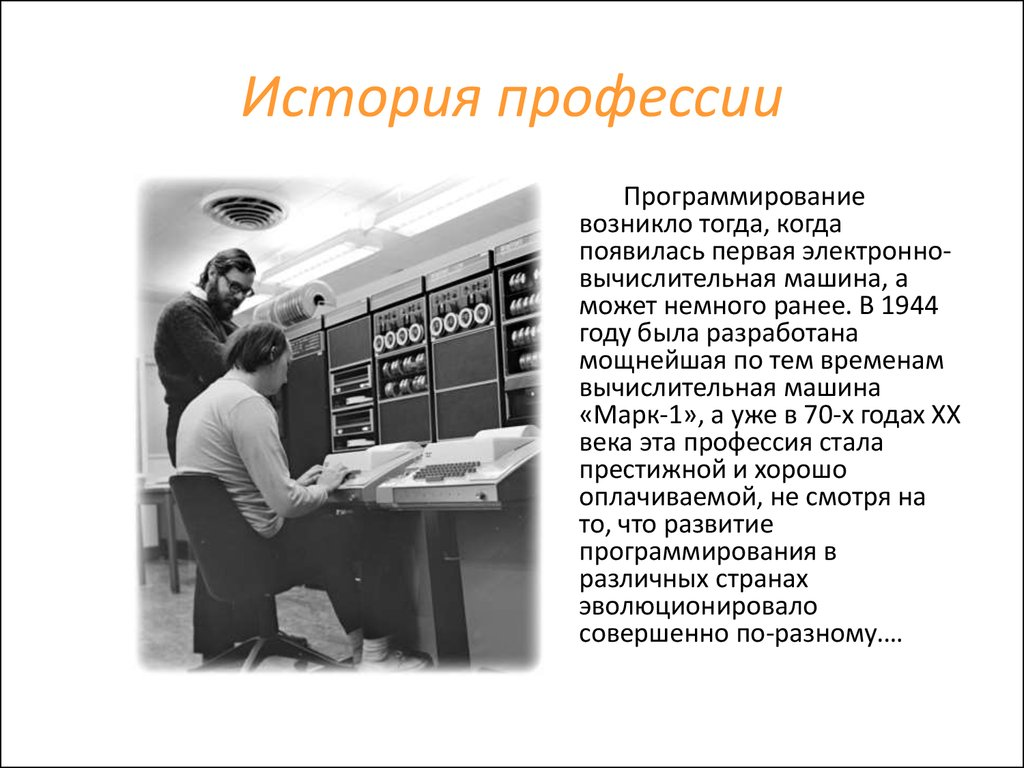 Реферат на тему программист 9766