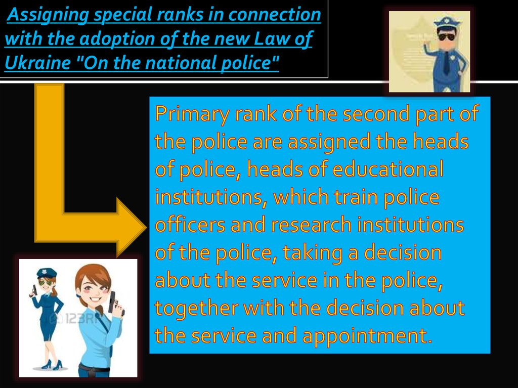 The evolution of the police and the american police system