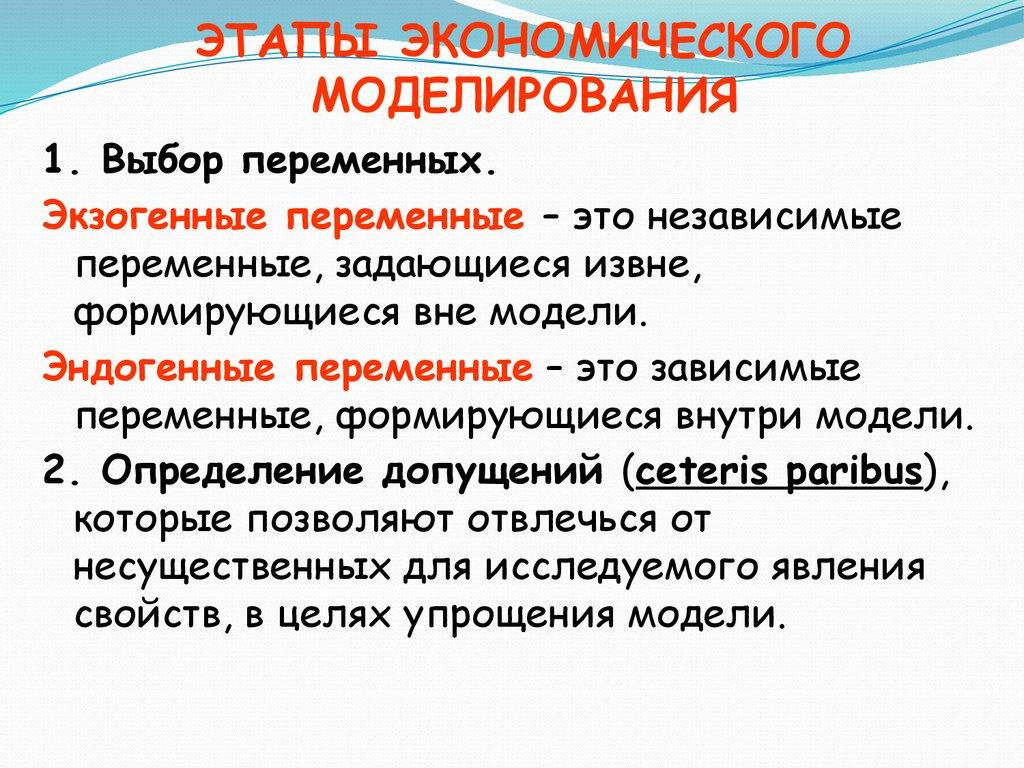 Моделирование Микроэкономики Халиков