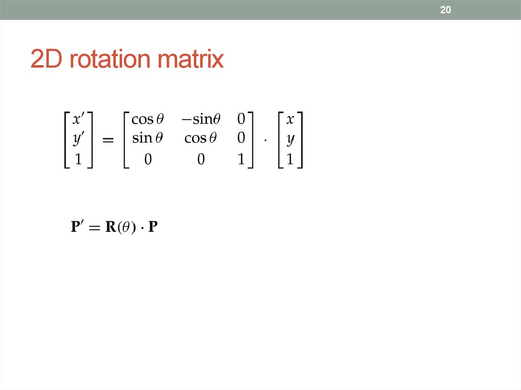 cmpe 466 computer graphics  2d geometric transformations   chapter 7