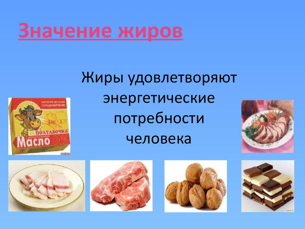 состав здорового питания