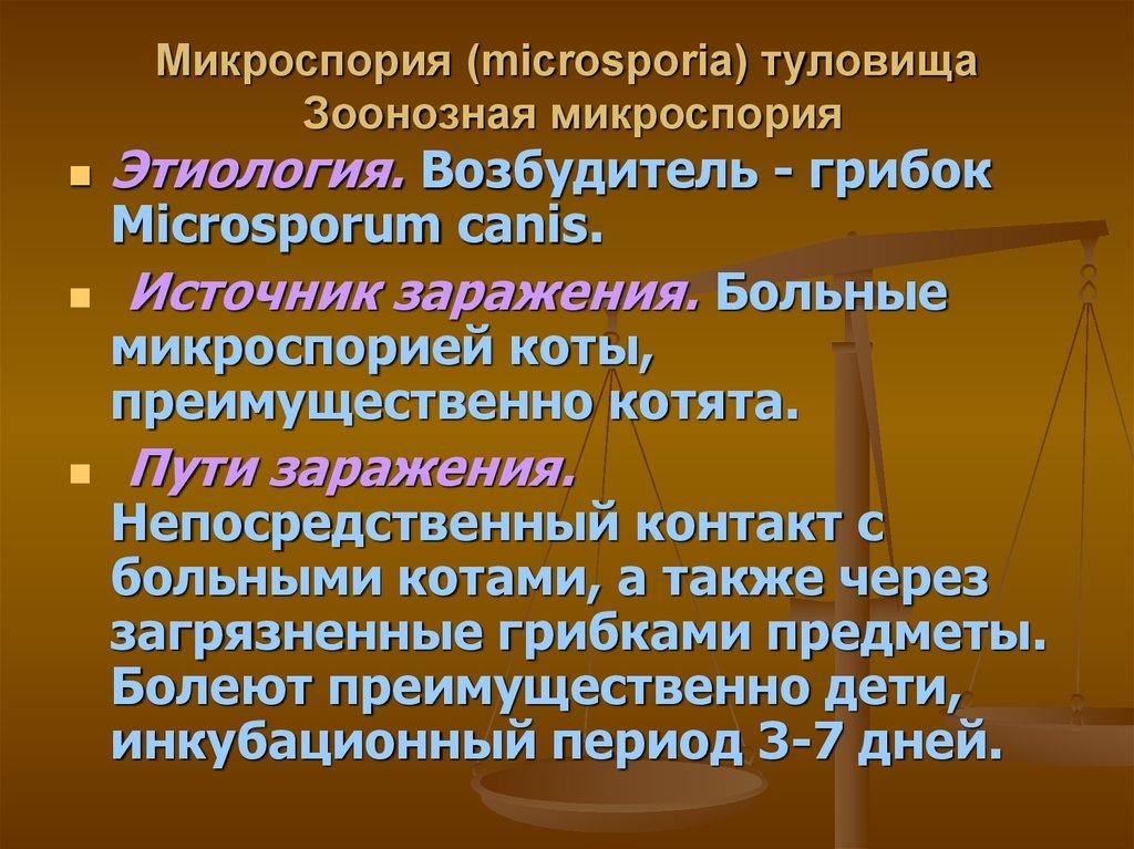Возбудители микозов Классификация возбудителей микозов