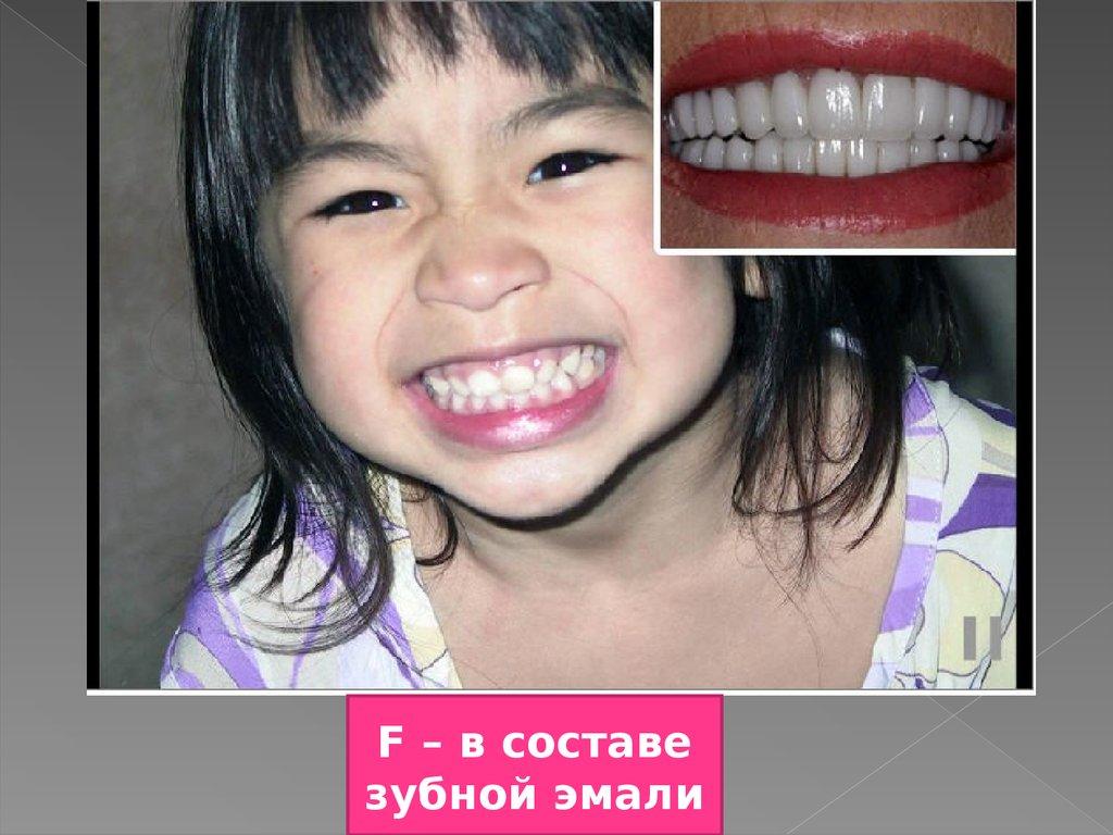 Основа эмали зубов