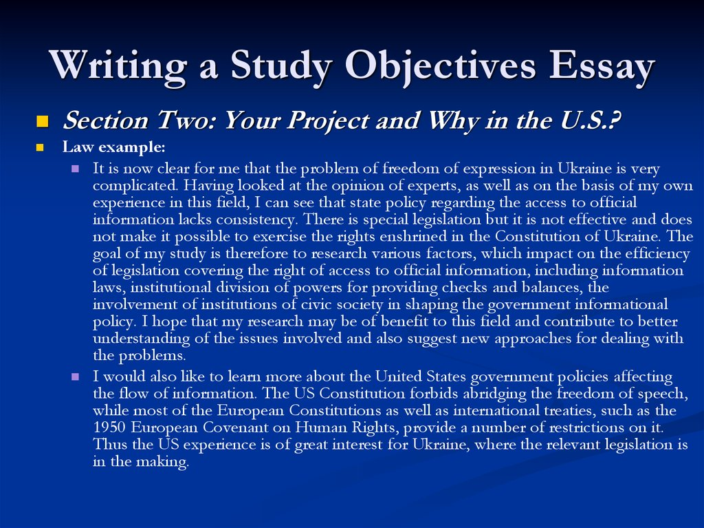 the fulbright program essay