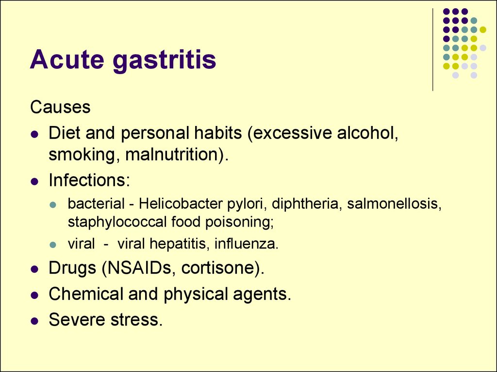 Slide on Gastrointestinal System Disorders