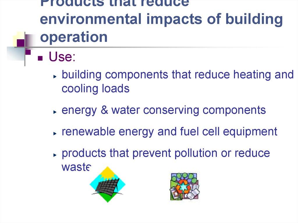 Green Building Materials презентация онлайн