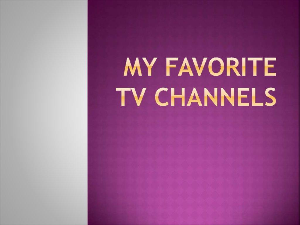 My Tv Online