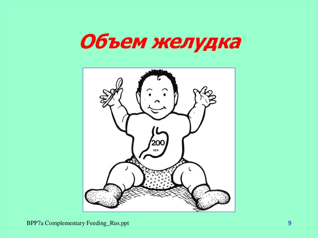 рацион питания ребенка в годик по дням