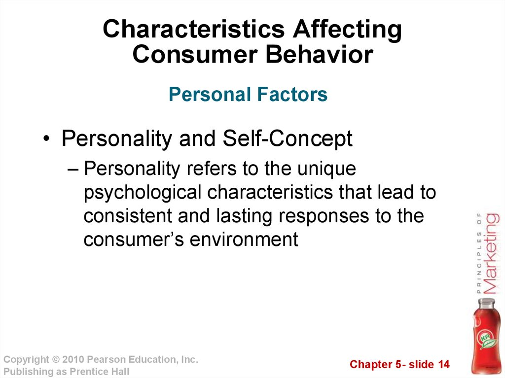 characteristics that affect consumer behavior ego Characteristics affecting the consumer behavior consumer purchases are influenced strongly by cultural, social, personal, and psychological characteristics as shown in the figure below chapter 5: consumer & business buyer behavior.