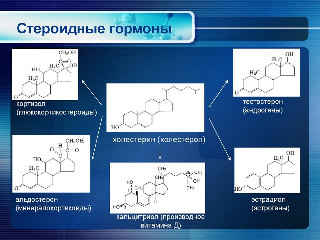 пептидные гормоны либерины и статины