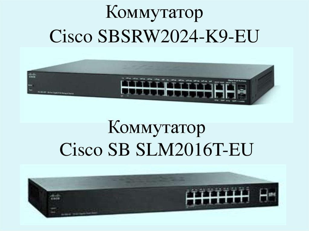 Коммутатор Cisco SBSRW2024-K9-EU