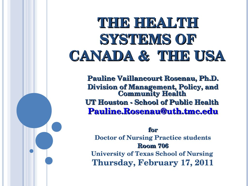 an overview of the canadian healthcare system Canadian healthcare system fact sheet american medical student association prepared by kao-ping chua, amsa jack rutledge fellow 2005-2006 history.