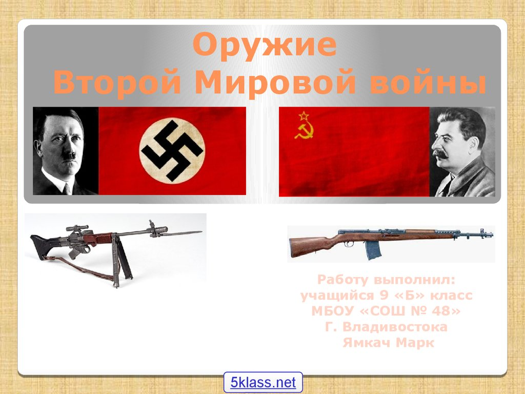 советское оружие презентация ppt -обж