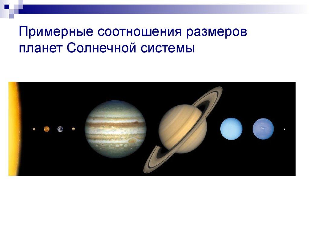 11 класс презентация размеры солнечной системы по сравнению с миром вселенной