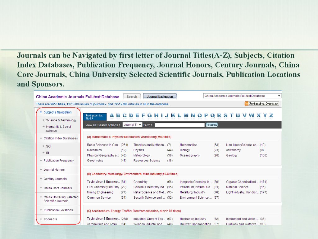 China doctoral dissertations full-text database