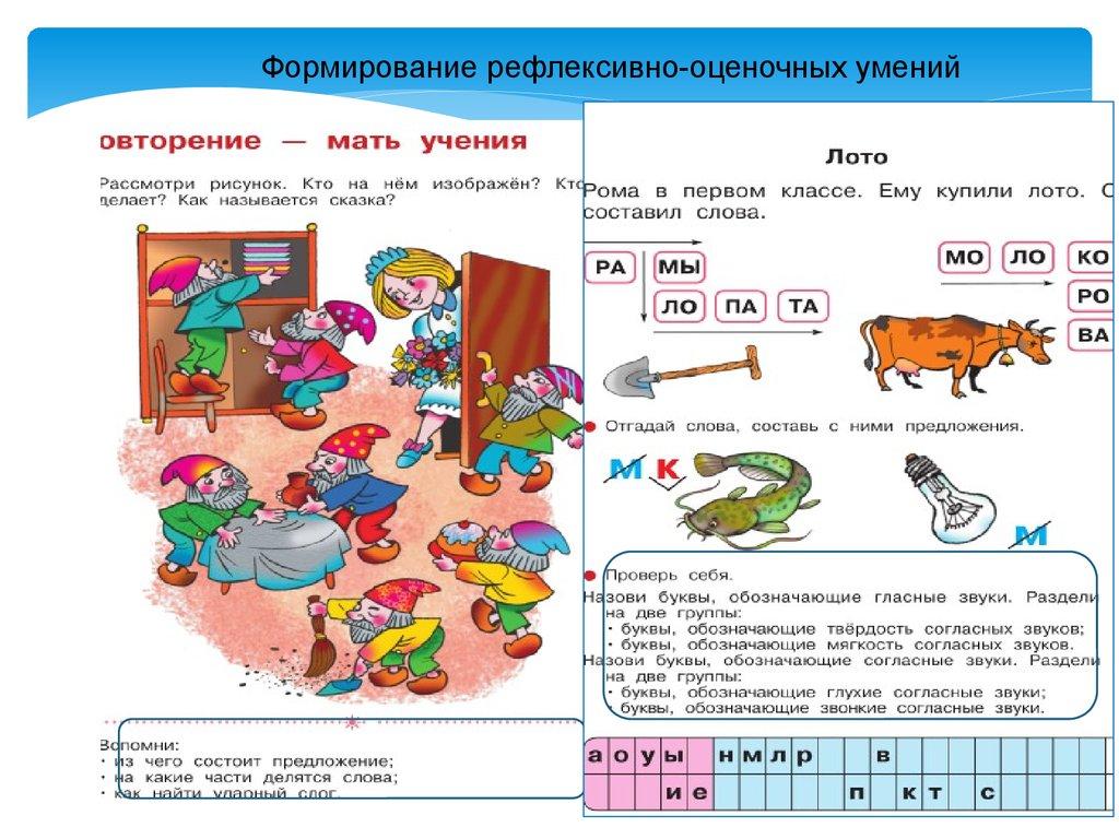 Электронное приложение к обучению грамоте