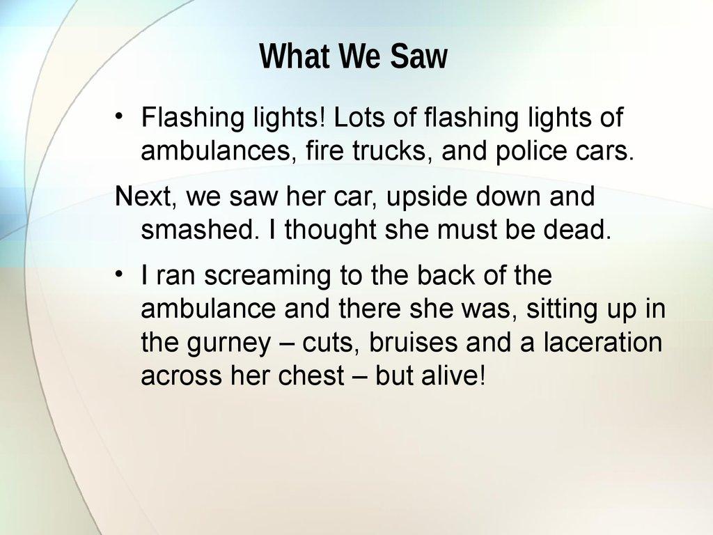 seatbelts save lives essay