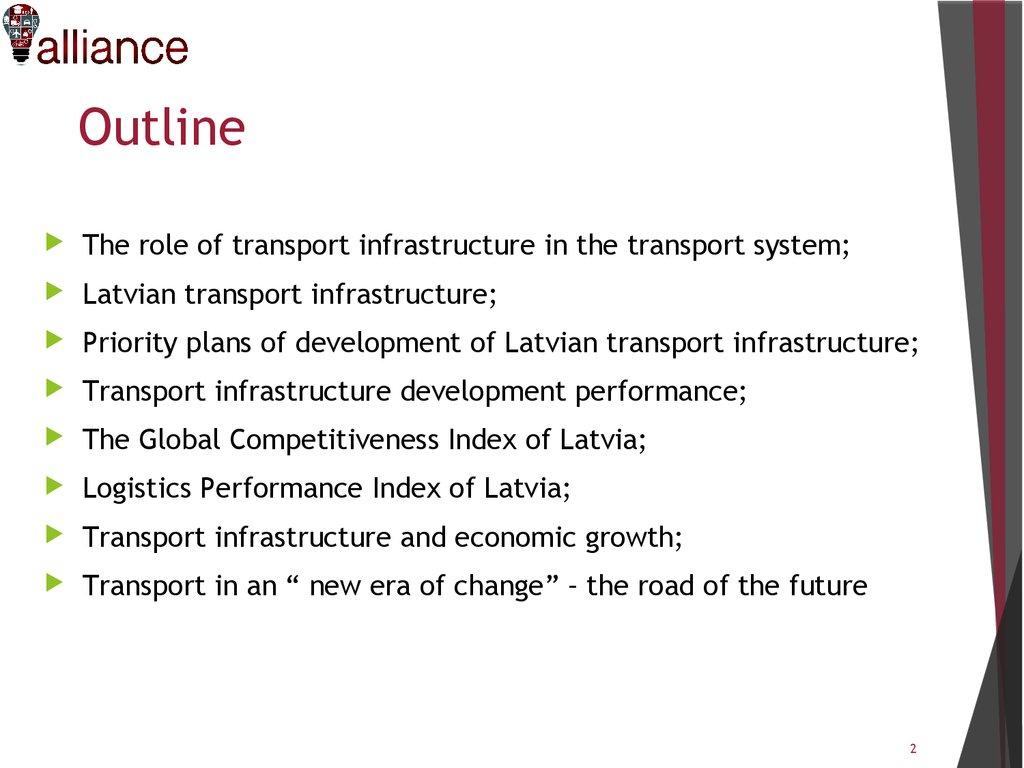 Transport Infrastructure Development Performance