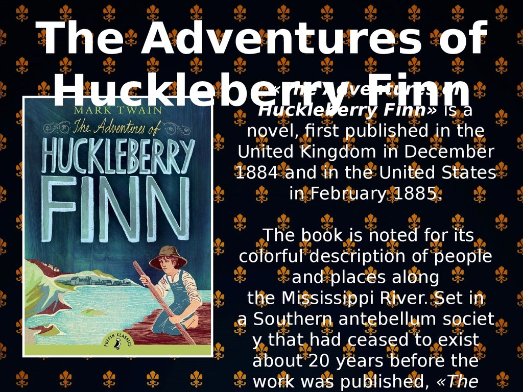 "new found chapter to huckelberry finn essay The adventures of huckleberry finn essay it says ""the widow found out where i was by and by through this huck got to learn new things and make more friends."