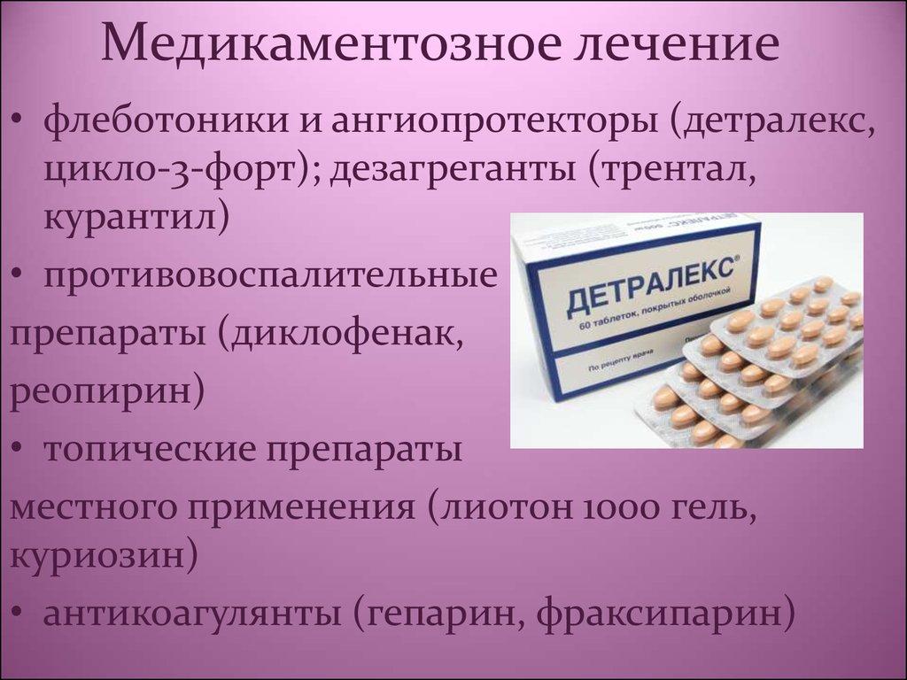 Новые препараты для лечения сердечно сосудистой системы