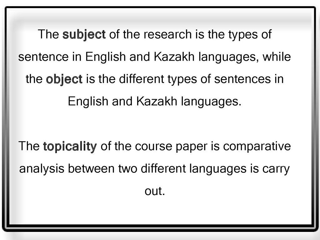 research paper on the language used Research within librarian-selected research topics on grammar and word use from the questia online library, including full-text online books, academic journals, magazines, newspapers and more.