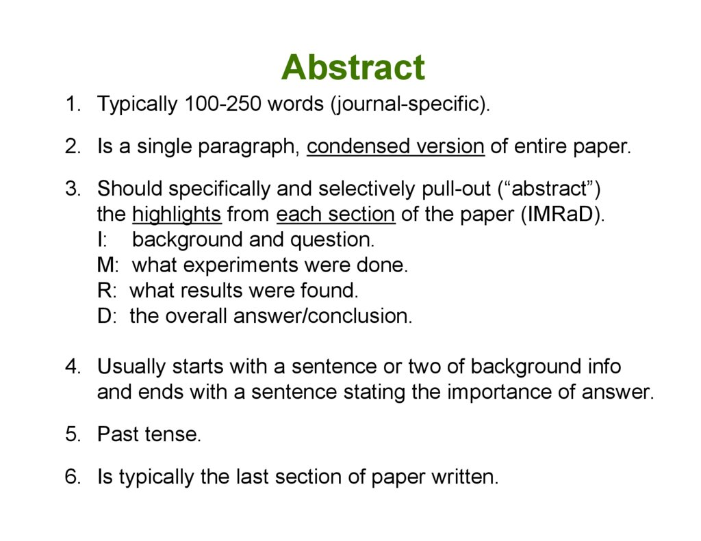 how to write an abstract for science How to write a good abstract for a scientific paper or how to write a good abstract for a scientific abstracts of scientific misleading readers could harm the cause of science and have an how to write a scientific abstract: 12 steps (with pictures)how to write a scientific abstract.