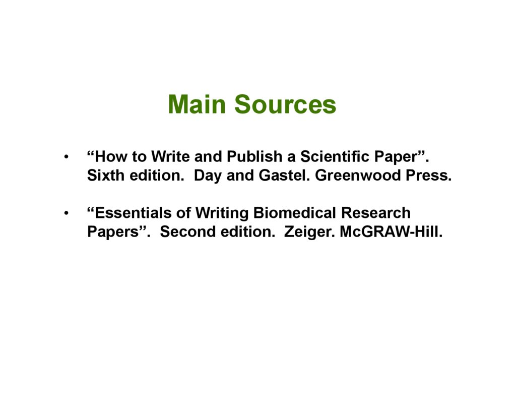 zeiger m essentials of writing biomedical research papers Titlekeywordspdf - zeiger m essentials of writing biomedical research papers, 2nd ed new york: essentials of writing biomedical research papers, which is available in english.