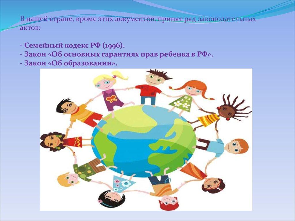 Защита прав ребёнка сценарий