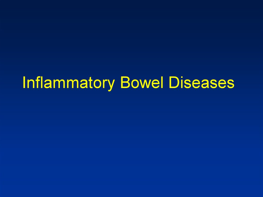 inflammatory bowel disease treatment guidelines