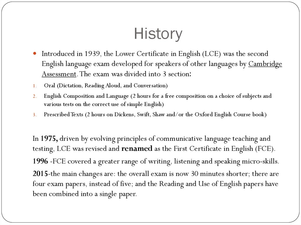 Pcs past papers english