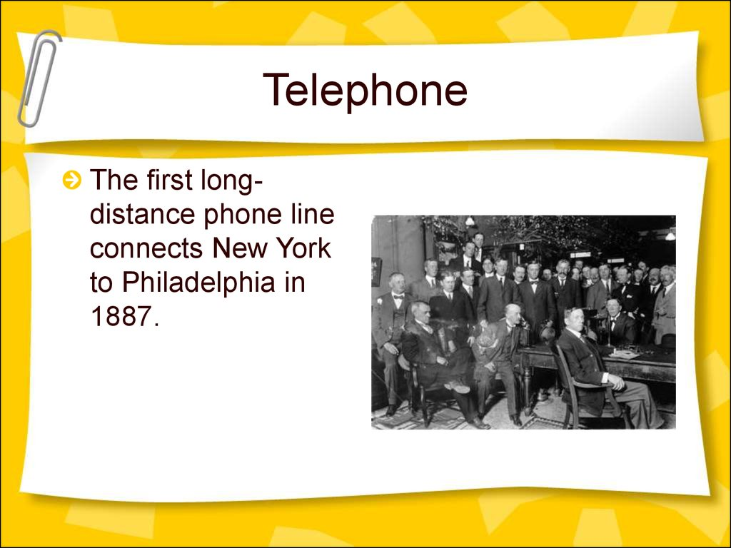 how did the invention of the telephone change the world The history and evolution of cell phones by: amanda ray filed under: gaming & technology january 22 they were primarily used in the sales and business world it's not just about how we will change cell phone.
