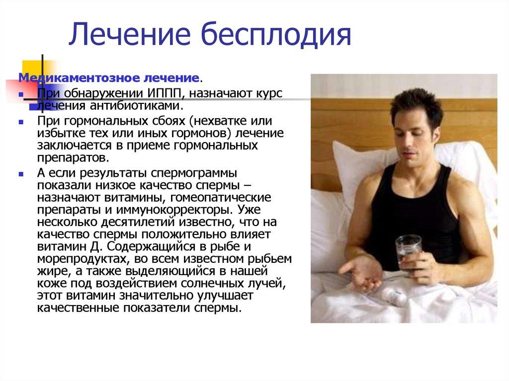 Мужское бесплодие - online presentation