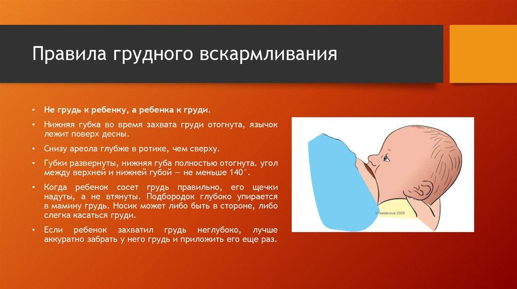 Грудное вскармливание - презентация онлайн
