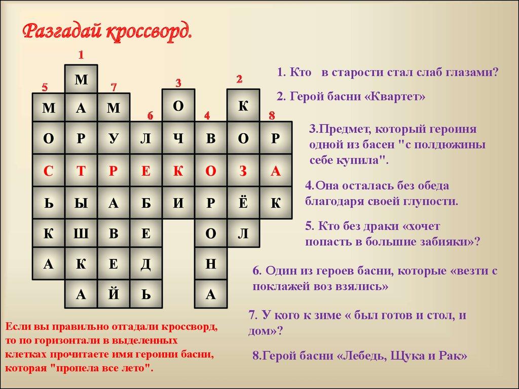 Иван андреевич крылов - презентация, доклад, проект.