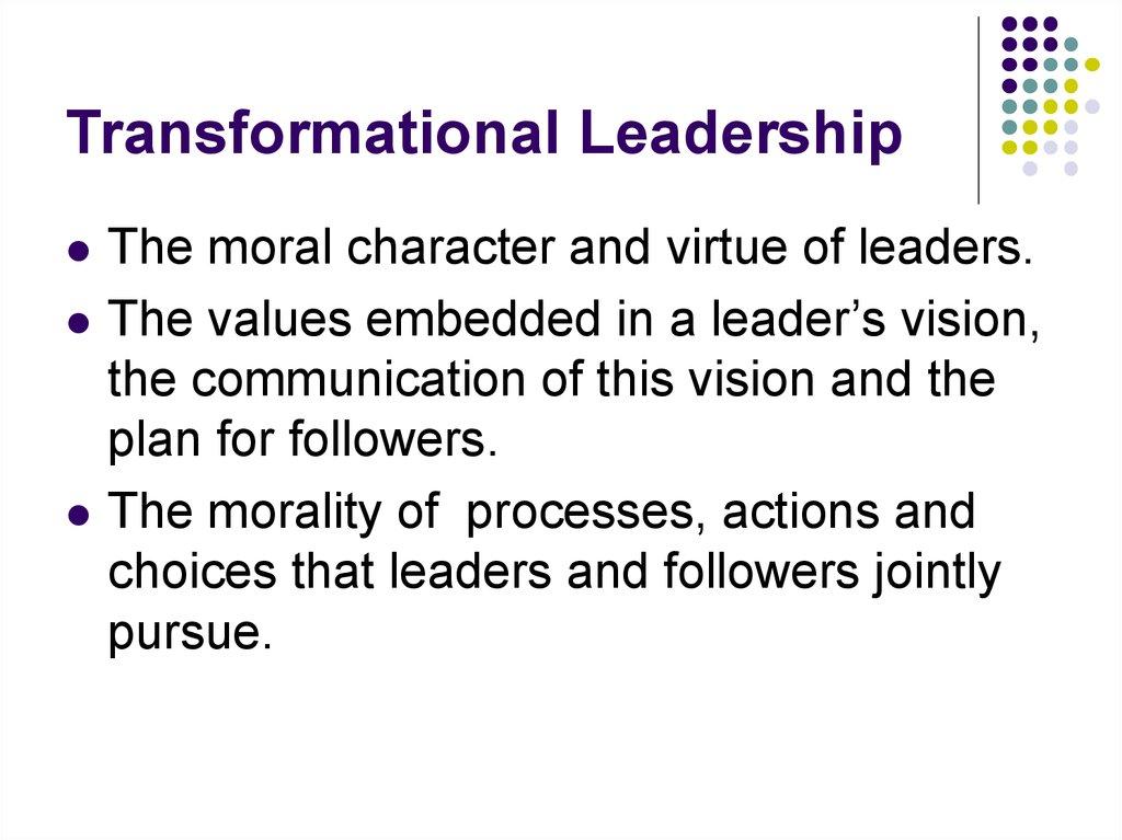 Transactional Vs. Authentic Leadership