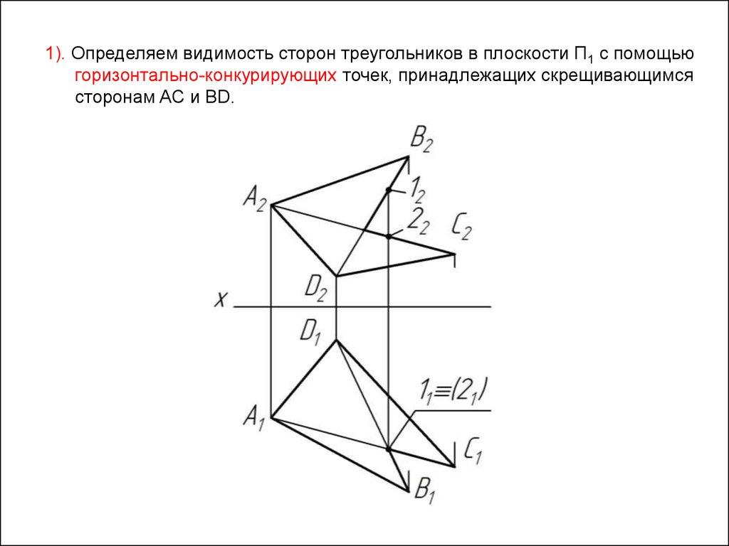 h презентацию по двугранному углу