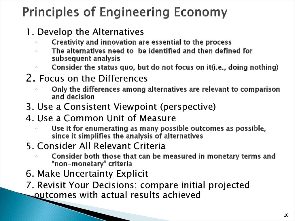 Engineering Economics презентация онлайн