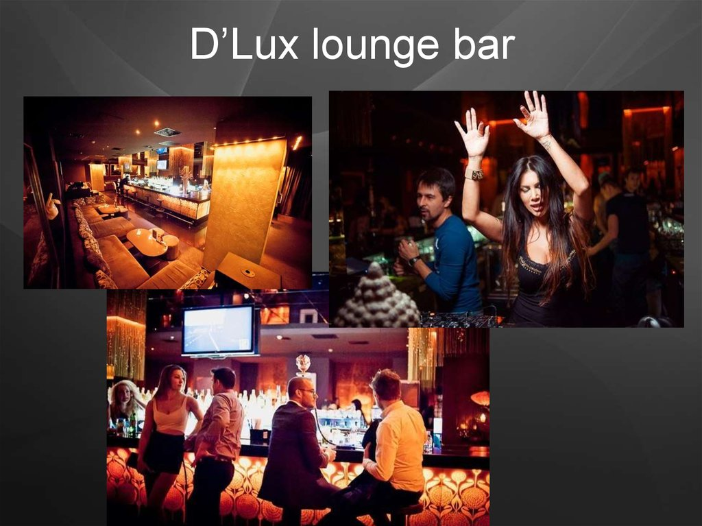 D'Lux lounge bar