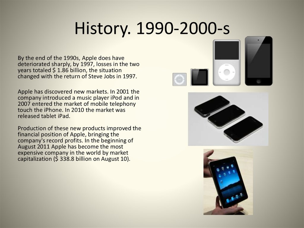 history of apple company pdf