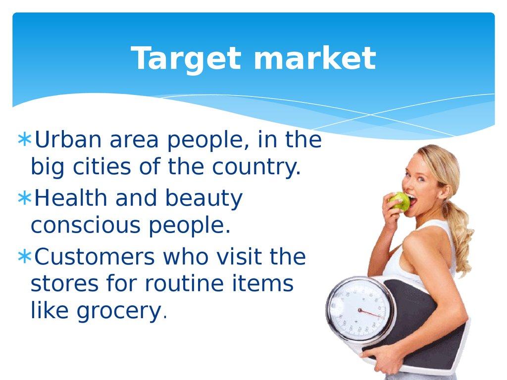 target market of unilever