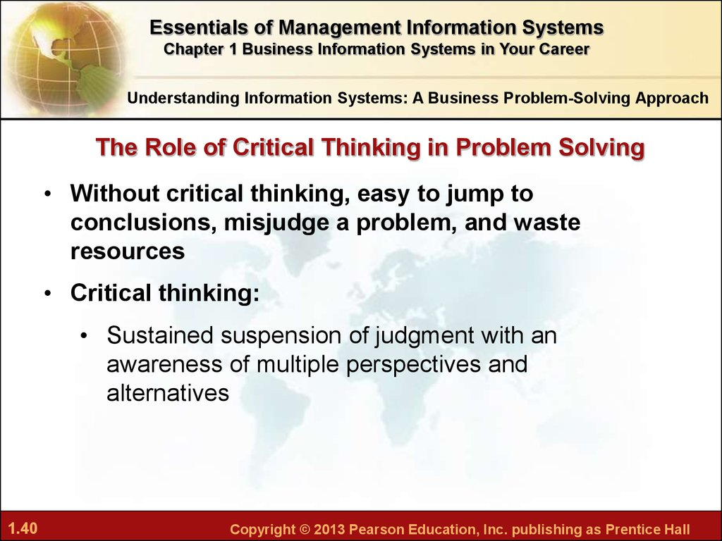 importance of critical thinking in education Critical thinking is important to us humans because it is why is critical thinking important in education what is the importance of critical and creative thinking.