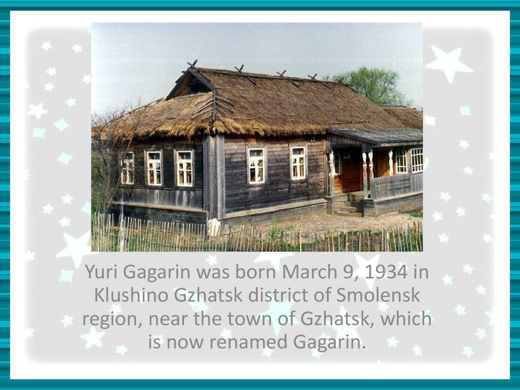 yuri gagarin education - photo #34