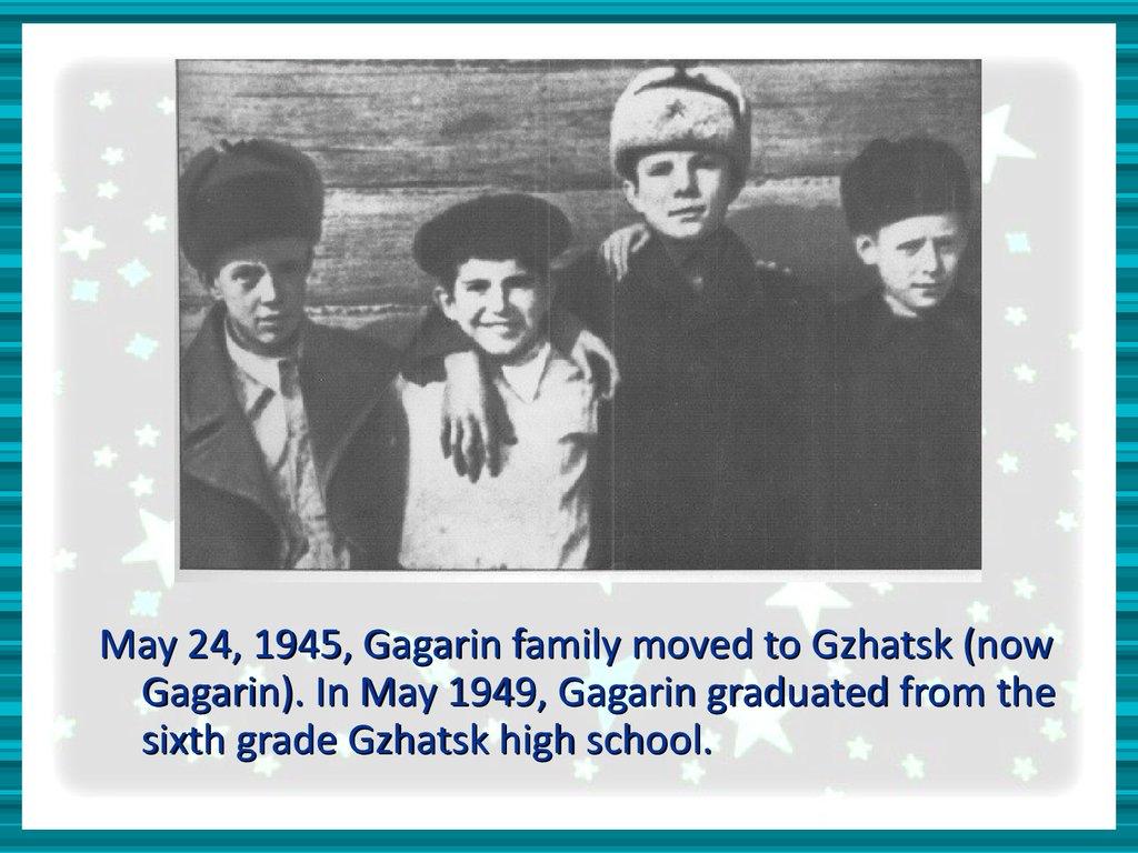 yuri gagarin education - photo #26