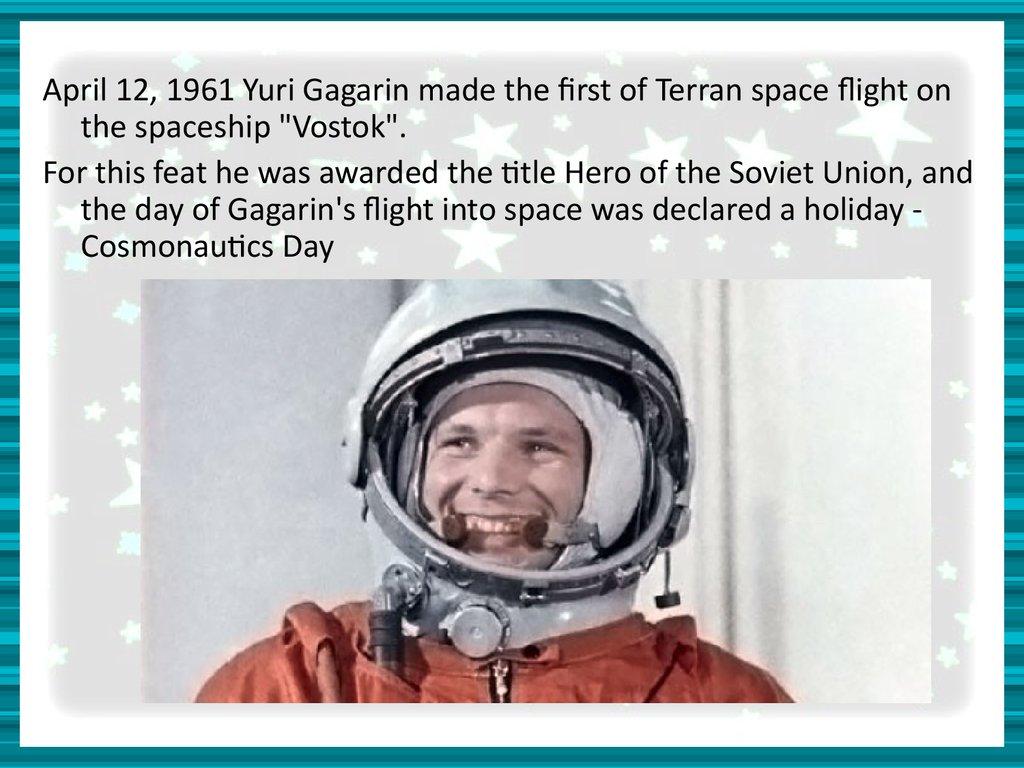 yuri gagarin education - photo #19