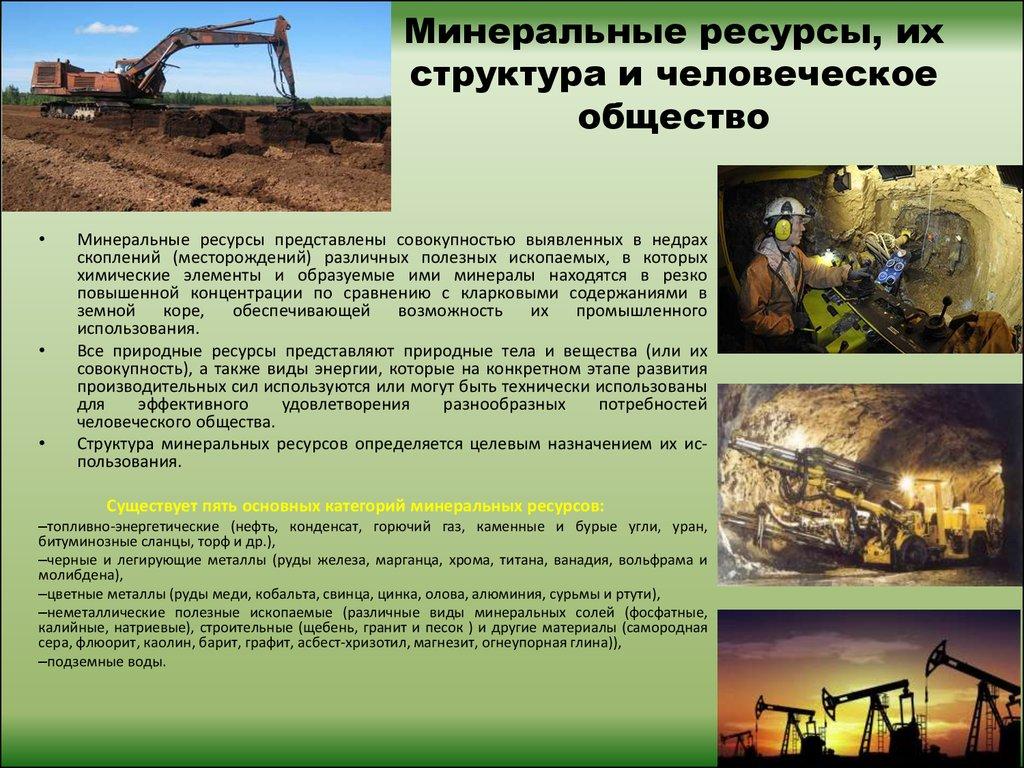 марку минеральные природные ресурсы и их характеристика его покупают