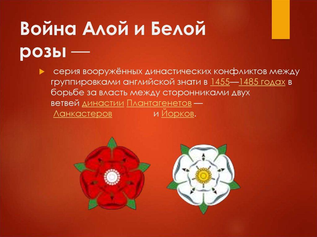 под знаком двойной розы англия при тюдорах доклад